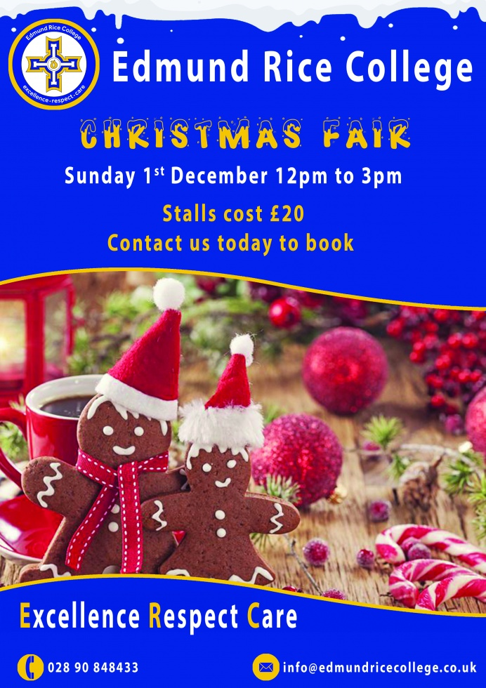Edmund Rice College Christmas Fair