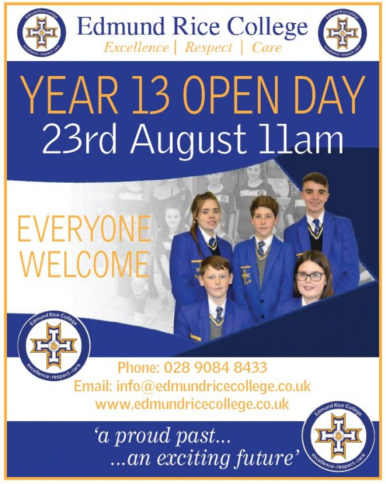 YEAR 13 OPEN DAY