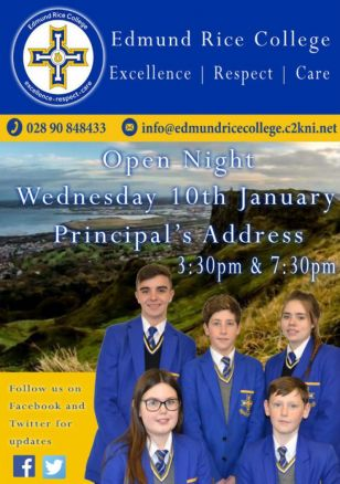 Open Night Wednesday 10th January