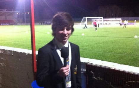 "Rory McFadden reporting live for Edmund Rice College on ""The Reds'"" treble winning season."